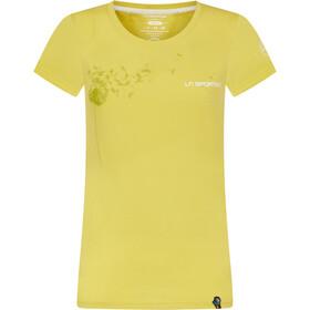 La Sportiva Windy T-Shirt Dames, geel